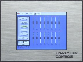 Lightolier Controls Is Proud To Announce Lytescene Touch Screen Master Station Jpg