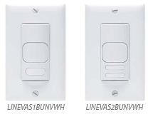 LINE V switches by Hubbell Building Automation