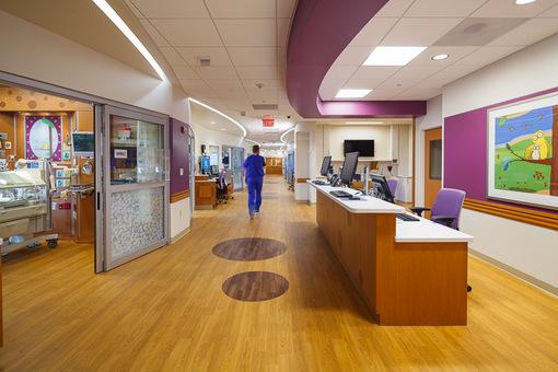 ETC Unison Mosaic_Childrens Hospital of WisconsinNICU room_Unison Mosaic_credit Children's Hospital of WI