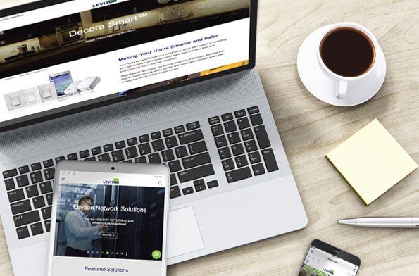 The New Leviton.com Experience