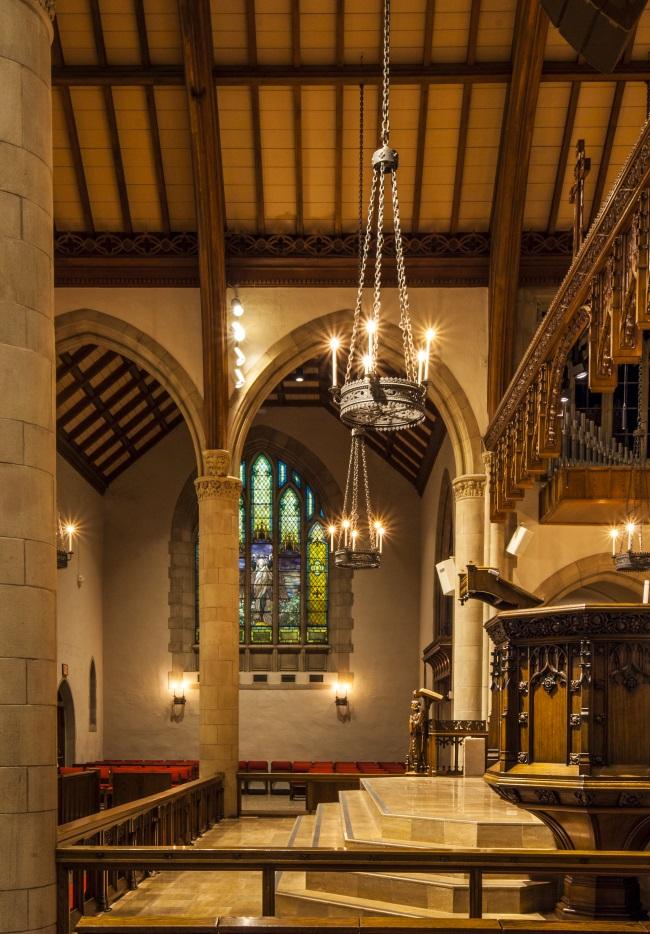 All Saints Church Wins 2018 IES Lighting Control Innovation